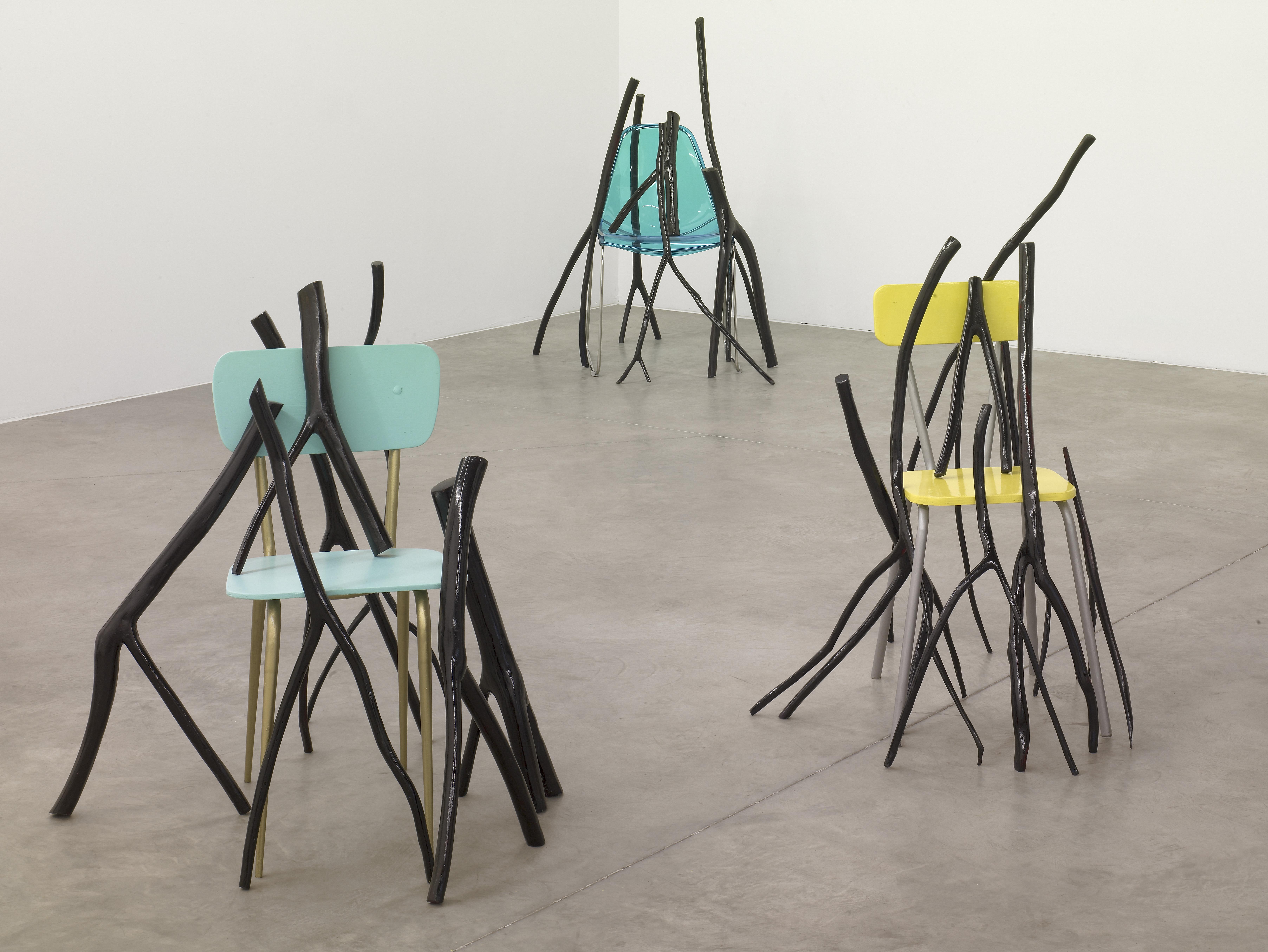 Gâtons la chaise – Galerie Verney Caron, 2009